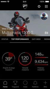 Multistrada Link versione iOS