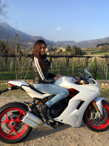 Ducati Supersport S la Prova