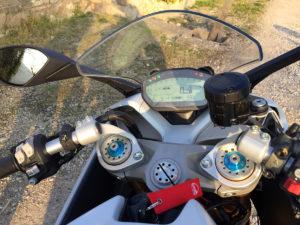 Ducati Supersport S: il ponte di comando