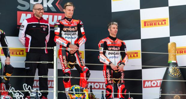 Superbike 2017 Aragon - Podio Gara 2