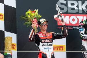 Superbike 2017 Aragon - Podio per Melandri gara 1