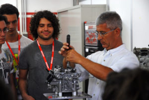 Ducati Fisica in Moto summer school 2017
