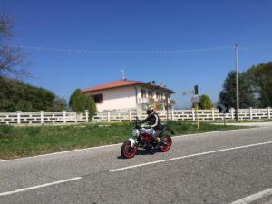 Prova nuovo Ducati Monster 797 - prova su strada