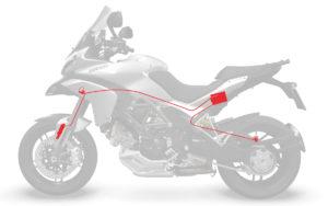 Ducati Multistrada 1200 MY13 - Sistema DDS