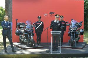 160 CV e equipaggiamento speciale fanno della Multistrada Carabinieri un mezzo perfetto per gli impieghi di pronto intervento e controllo del territorio