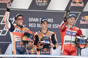 MotoGP 2017 Jerez - Podio