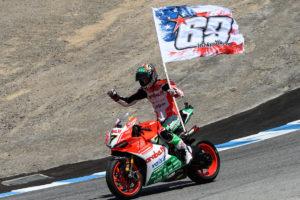 Superbike 2017 Laguna Seca - Chaz Davies