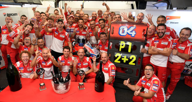 MotoGP 2017 Silverstone - Vittoria per Andrea Dovizioso