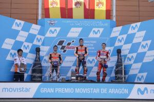 MotoGP 2017 Aragon Jorge Lorenzo Podio