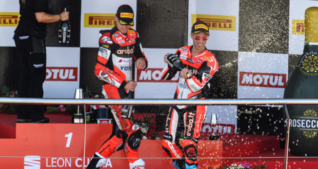 Superbike 2017 Jerez - Podio Gara 2