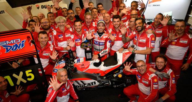 MotoGP 2017 Motegi vittoria Dovizioso