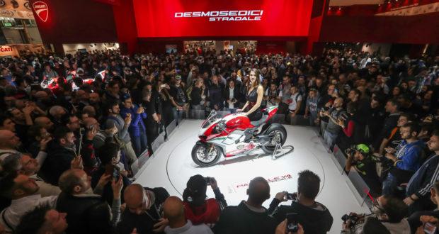 Ducati Panigale V4 la moto più bella di EICMA 2017