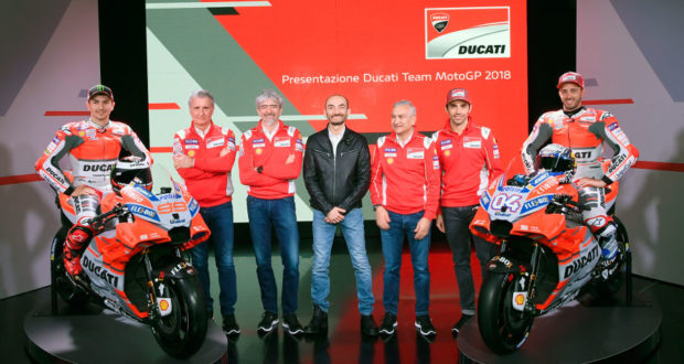 Nuova Ducati GP18