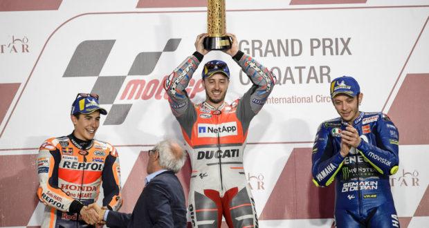 motogp 2018 quatar - Vittoria di Andrea Dovizioso