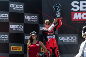 Superbike 2018 Laguna Seca - Chaz Davies
