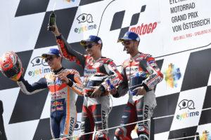 Motogp 2018 Austria - Podio Ducati